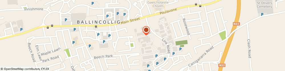 Route/map/directions to Scotts For Tools,  Cork, Commercial Park, Ballincollig