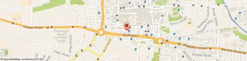 Route/map/directions to Fever Marketing, CO2 7AT Colchester, 12 Chapel Street North, 1st Floor