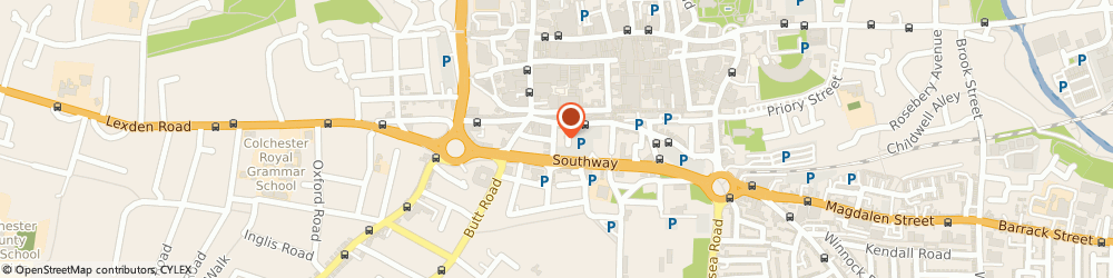 Route/map/directions to thisisfever, CO2 7AT Colchester, 12 Chapel Street North