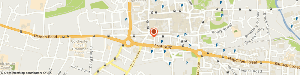 Route/map/directions to Pitman Training Courses, CO1 1WQ Colchester, 2 St Johns Wynd