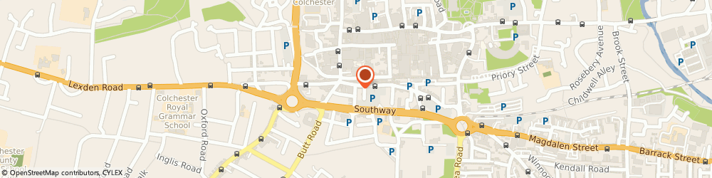 Route/map/directions to Intraorbis Ltd, CO2 7NN Colchester, B130, 9 ST JOHNS STREET