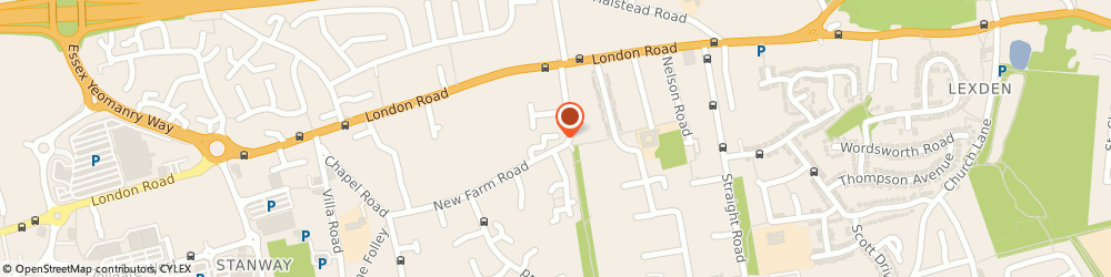 Route/map/directions to SAC Scaffolding (Eastern) Ltd, CO3 0GN Colchester, 6 Cobble Row