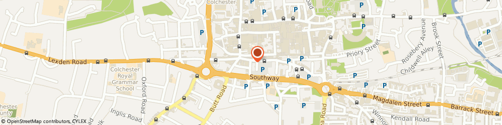 Route/map/directions to Intraorbis Training Ltd, CO2 7NN Colchester, COMMUNICATIONS HOUSE, 9 ST. JOHNS STREET