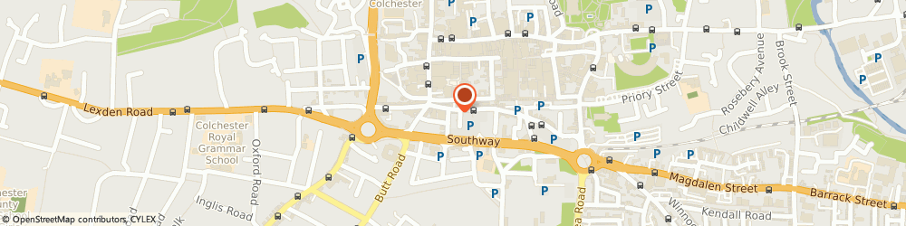 Route/map/directions to Blowers Hair And Beauty, CO2 7AN Colchester, 11 St John's Street