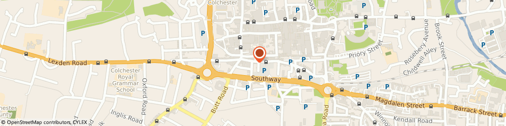 Route/map/directions to Tendring Lettings, CO2 7AN Colchester, 10 St. Johns Street