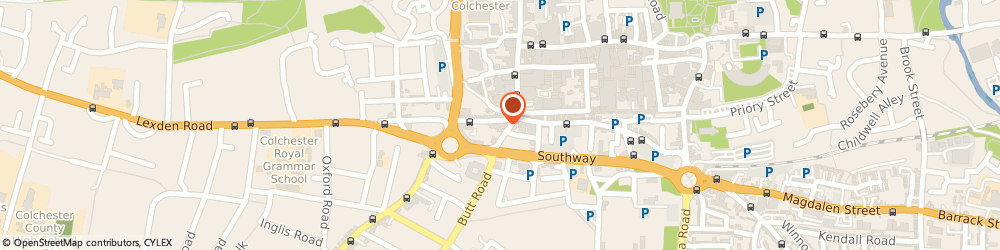 Route/map/directions to Wedding Make Up Artist Colchester, CO3 3BT Colchester, The Coach House, 13a Headgate