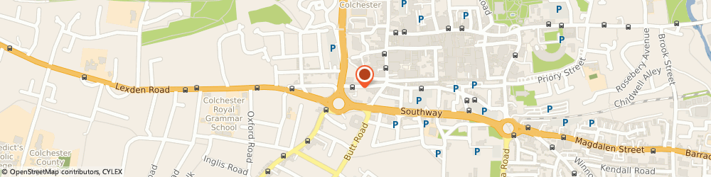 Route/map/directions to Mortgages First, CO3 3ES Colchester, 20A CROUCH STREET