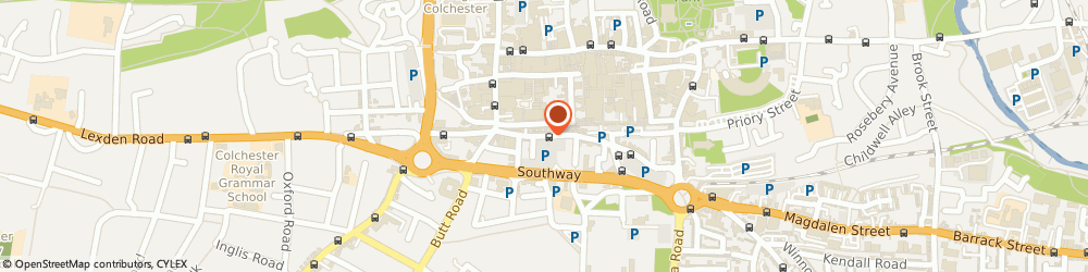 Route/map/directions to Optident Dental Clinic, CO2 7AD Colchester, 37 St John's St