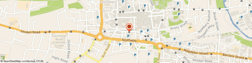 Route/map/directions to Allegro Music Academy, CO2 7AD Colchester, 48C St John's St