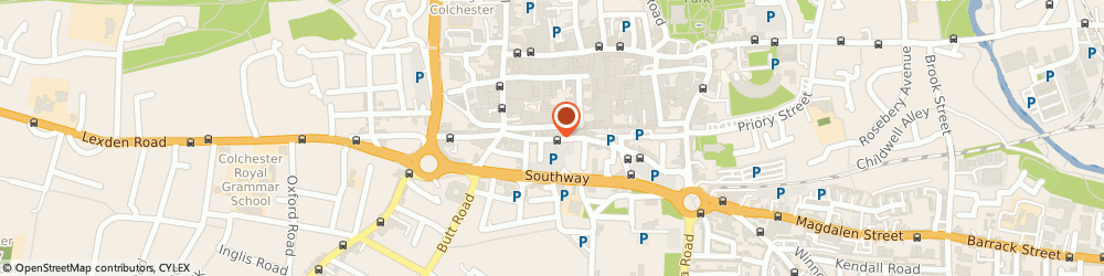Route/map/directions to The Organic Gourmet, CO2 7AD Colchester, 40, ST. JOHNS STREET