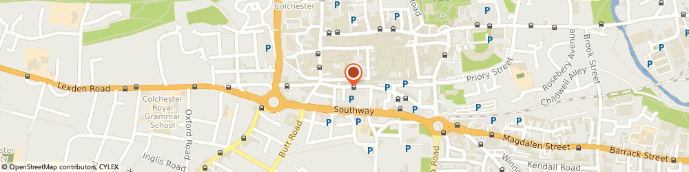 Route/map/directions to Body & Sole, CO2 7AD Colchester, 43, ST. JOHN STREET