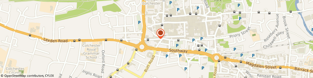 Route/map/directions to Colchester - Acupuncture, Herbal Medicine, Chinese Medical Centre, CO3 3EN Colchester, 17 Crouch St