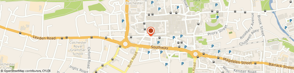 Route/map/directions to Staffrelations, CO2 7AA Colchester, 2, St. Johns Street