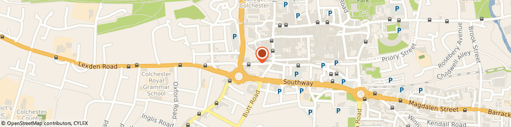 Route/map/directions to Age UK Shop Colchester, CO3 3EN Colchester, 9 Crouch Street