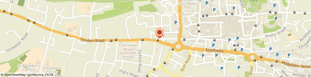 Route/map/directions to Exquisite Home Ltd, CO3 3HA Colchester, 109 Crouch St