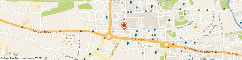 Route/map/directions to Elms Price & Co, CO3 3EN Colchester, 15 Crouch Street