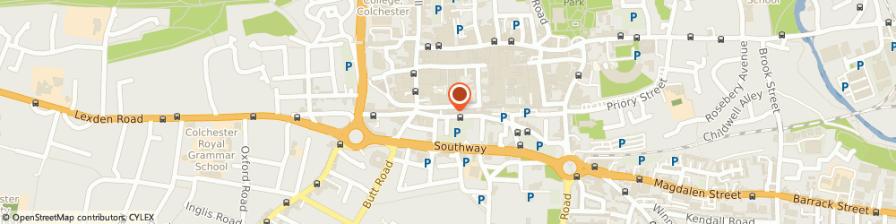 Route/map/directions to Scotties Bakery, CO2 7AD Colchester, 37 ST. JOHNS STREET