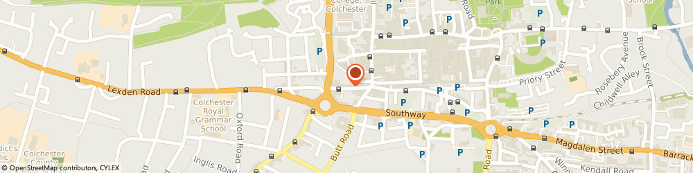 Route/map/directions to Complete Body Therapy Massage Clinic, CO3 3EN Colchester, 35 CROUCH STREET