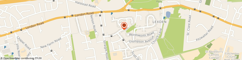 Route/map/directions to Shantek Solutions Uk Limited, CO3 4HE Colchester, 37 CHAUCER WAY