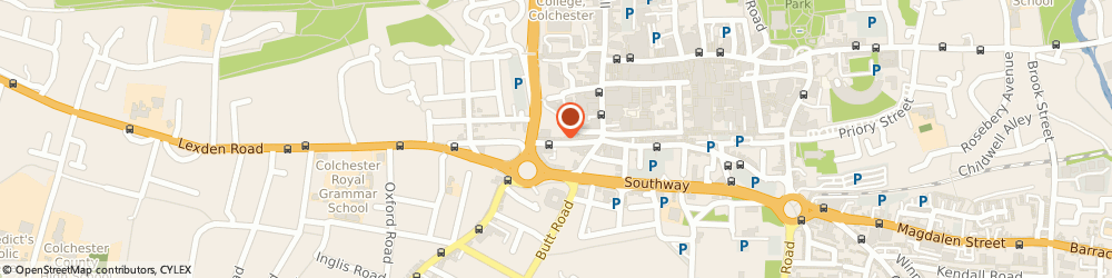 Route/map/directions to Icon Mens Hair Design & Barbers, CO3 3EN Colchester, 37 Crouch St