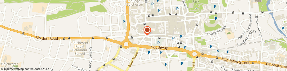 Route/map/directions to Temme English Estate Agent, CO3 3EN Colchester, 1-3 Crouch Street