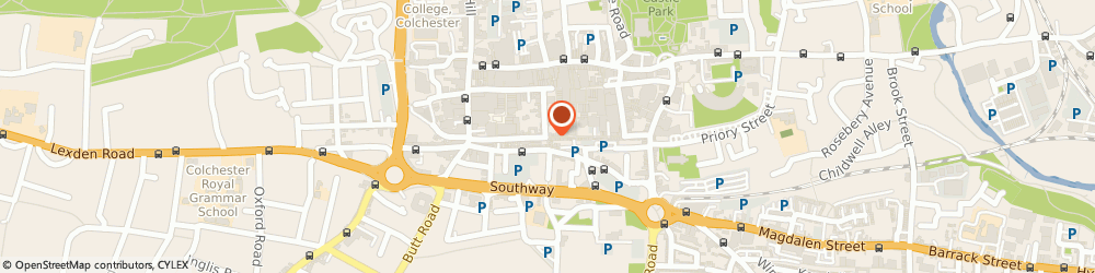Route/map/directions to GLAMOROUS THREADING & BEAUTY SALON LIMITED, CO1 1LS Colchester, 1C ELD LANE