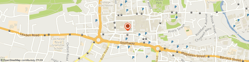 Route/map/directions to Flawless Nails and Beauty, CO1 1JJ Colchester, 30 Sir Isaac's Walk
