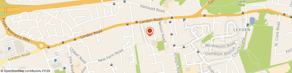 Route/map/directions to General Dogsbody, CO3 9AU Colchester, 36 Collingwood Rd