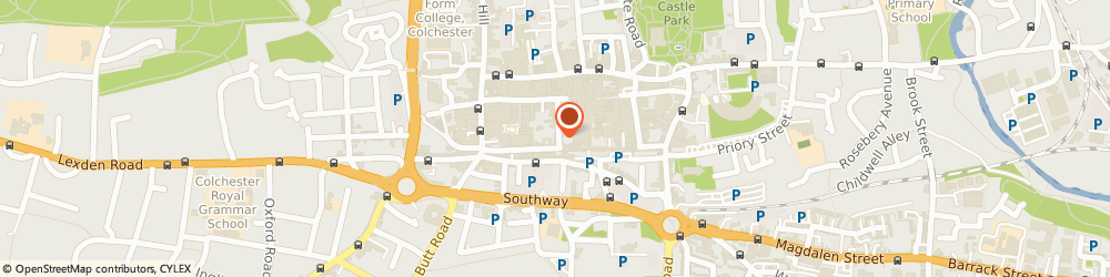 Route/map/directions to Trinity Dental Practice, CO1 1JN Colchester, 14 Trinity Street