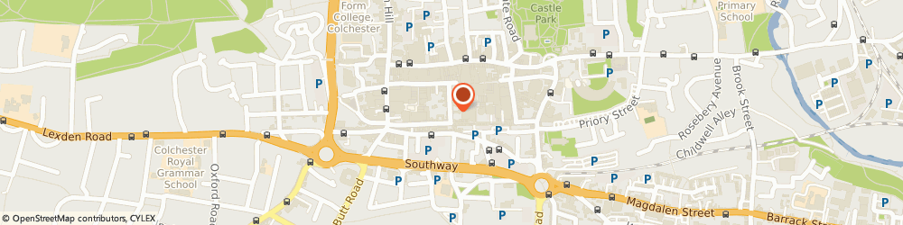 Route/map/directions to Cafe at Number 21, CO1 1JN Colchester, 21 Trinity St