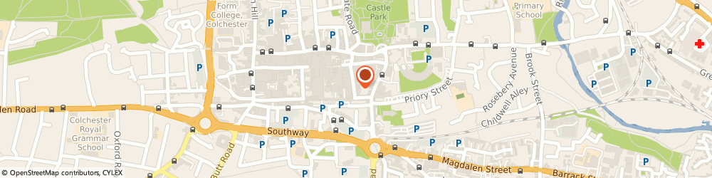 Route/map/directions to CeX, CO1 1LJ Colchester, 38-42 Long Wyre Street