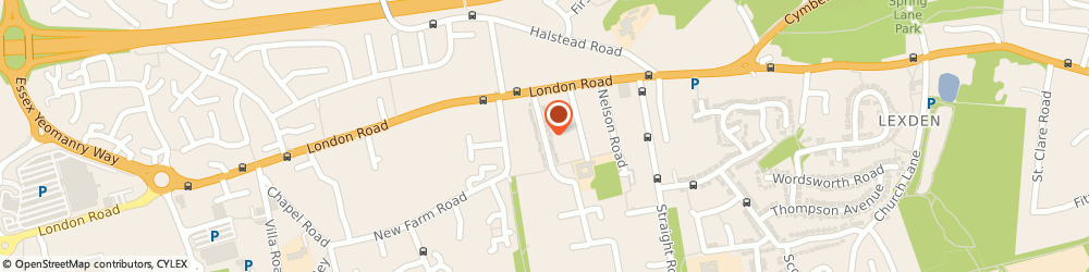 Route/map/directions to PO CONSTRUCTIONS LTD, CO3 9AY Colchester, 73 Collingwood Road