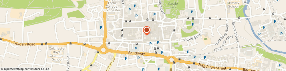 Route/map/directions to Tindalls The Stationers Ltd, CO1 1JN Colchester, 25 TRINITY STREET