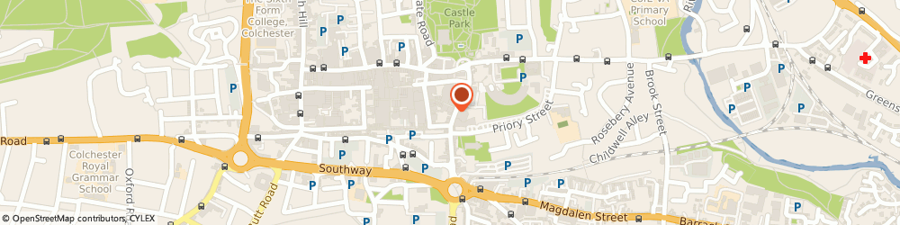 Route/map/directions to STABILIS FITNESS LTD., CO1 2PJ Colchester, 20-28 Queen St