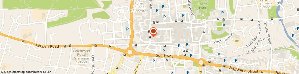 Route/map/directions to Fatal Attractions Hair Design, CO1 1NH Colchester, 37 Head St