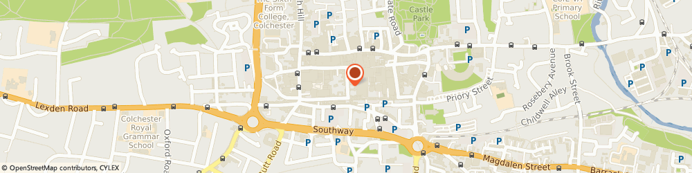 Route/map/directions to Youth Enquiry Service, CO1 1JN Colchester, 9 Trinity St