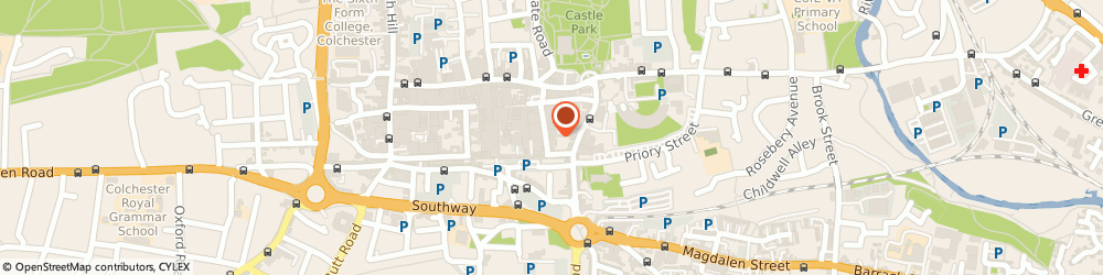 Route/map/directions to Colchester PDSA shop, CO1 1LJ Colchester, 38 Long Wyre Street