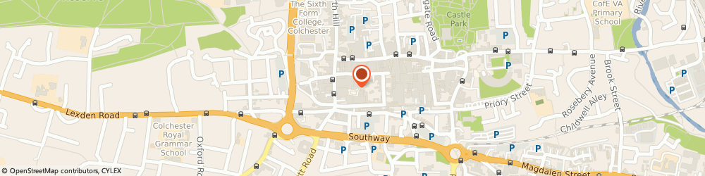 Route/map/directions to TK Maxx, CO1 1WF Colchester, 7A Culver Square
