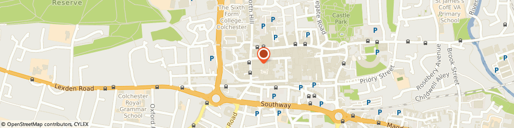 Route/map/directions to Rituals, CO1 1JG Colchester, 34 Culver Street West