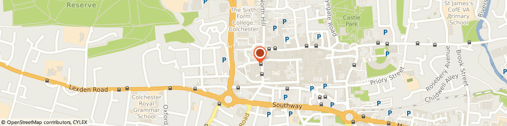 Route/map/directions to Alter Ego Hair Design, CO1 1NF Colchester, 9 Church St