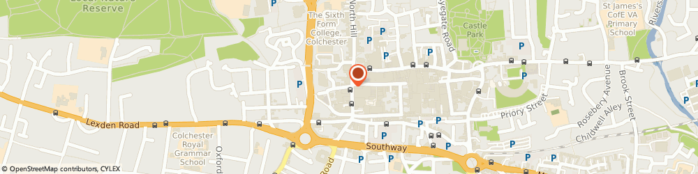 Route/map/directions to Chapman Corporate & Professional Management Ltd, CO1 1NH Colchester, 21 Head Street