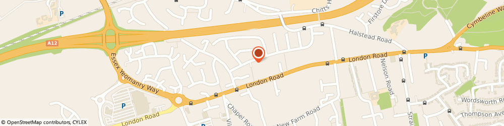 Route/map/directions to CORE FUSION LIMITED, CO3 0HU Stanway, 2 NEW ROAD