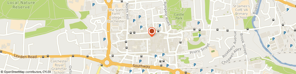 Route/map/directions to Concept Building Solutions Colchester Ltd, CO1 1JN Colchester, 1, Trinity St, Suite 11 Trinity House