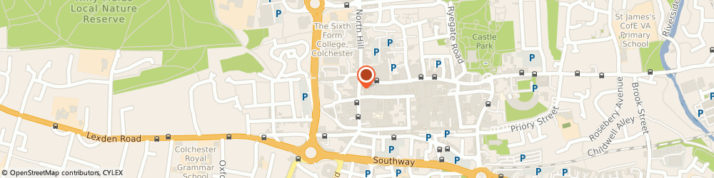 Route/map/directions to Bethell & Clark, CO1 1NX Colchester, 5 Head Street