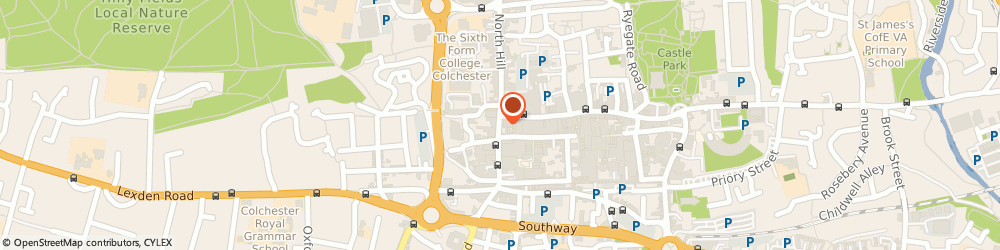 Route/map/directions to Car Dealers Directory, CO1 1DA Colchester, 1-2, High Street