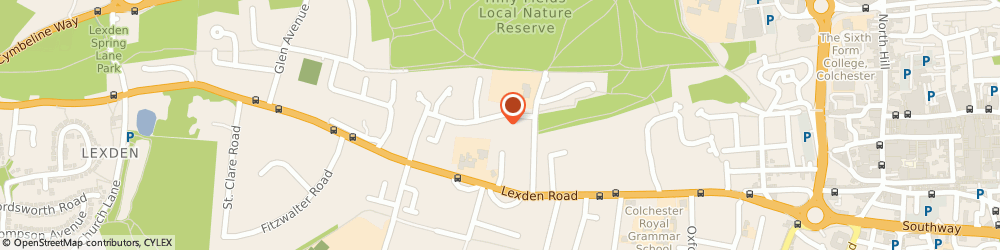 Route/map/directions to Lexdon Tutors, CO3 3QN Colchester, 18 Endsleigh Ct