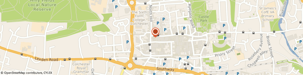 Route/map/directions to Goodlife Sandwich Bar, CO1 1NY Colchester, 8 Head Street