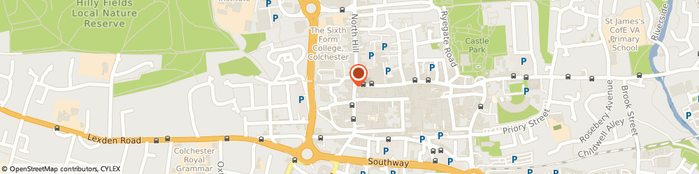 Route/map/directions to Footprint Digital, CO1 1NX Colchester, 1-3 Head Street