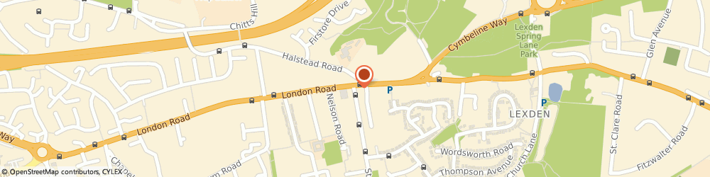 Route/map/directions to Dmg Colchester Limited, CO3 4DG Colchester, 80 LONDON ROAD