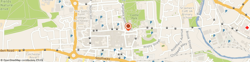 Route/map/directions to Private Investigator, CO1 1PG Colchester, CALL CENTRE, HIGH STREET